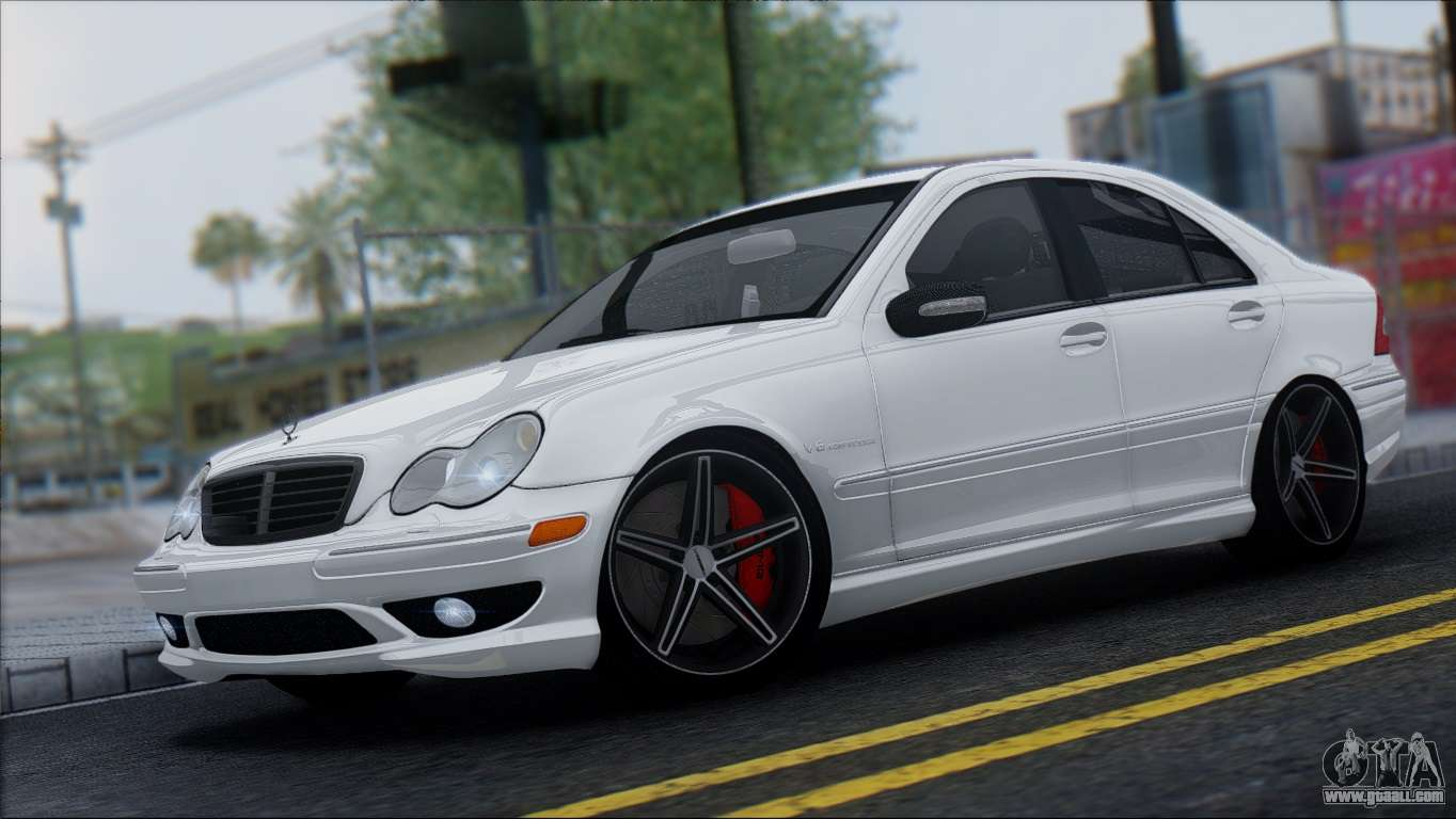 Mercedes benz c32 vossen for gta san andreas for Mercedes benz gta