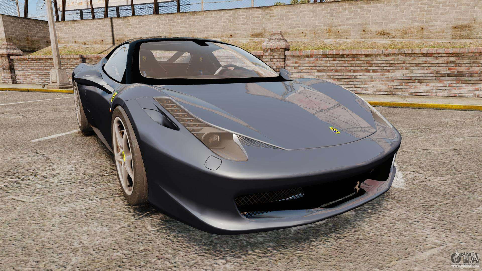 Ferrari 458 Italia for GTA 4
