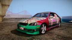 Toyota Altezza Sakura Miku Itasha for GTA San Andreas