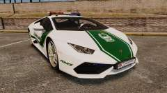 Lamborghini Huracan Cop [ELS] for GTA 4