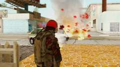 Blood On Screen for GTA San Andreas