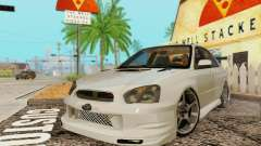 Subaru Impreza WRX Stock for GTA San Andreas