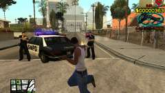 C-HUD Guns for GTA San Andreas