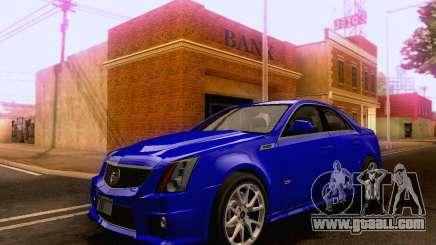 Cadillac CTS-V Sedan 2009-2014 for GTA San Andreas