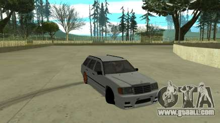 Mercedes-Benz W124 Wagon for GTA San Andreas