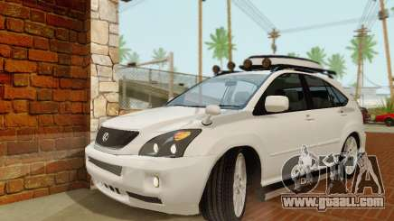 Lexus RX400h 2010 for GTA San Andreas