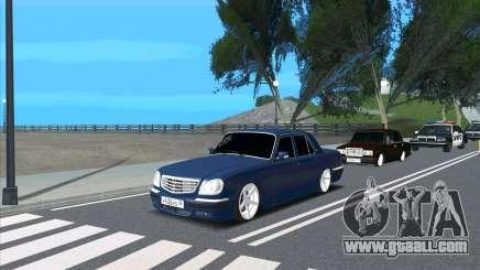 GAZ 31105 KTA for GTA San Andreas