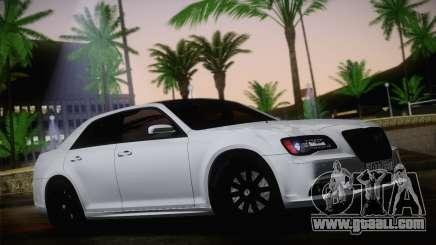 Chrysler 300 SRT8 Black Vapor Edition for GTA San Andreas