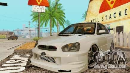 Subaru Impreza WRX Stock for GTA San Andreas