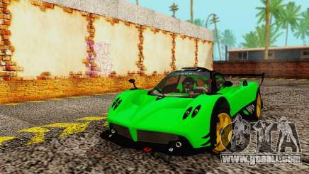 Pagani Zonda Type R Green for GTA San Andreas