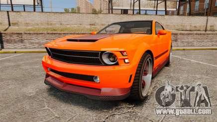 GTA V Vapid Dominator wheels v2 for GTA 4