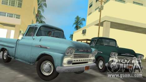 Chevrolet Apache Fleetside 1958 for GTA Vice City