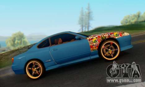 Nissan Silvia S15 Metal Style for GTA San Andreas right view