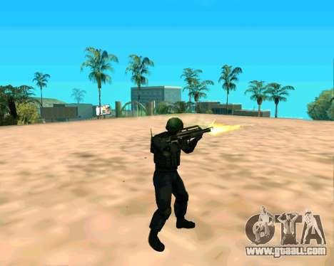 Jackhammer из Max Payne for GTA San Andreas fifth screenshot