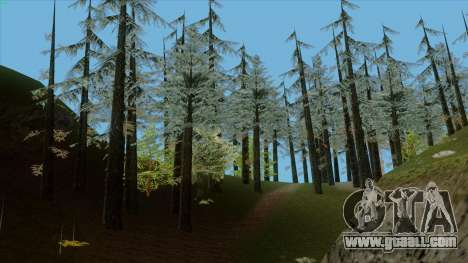 The dense forest v2 for GTA San Andreas forth screenshot