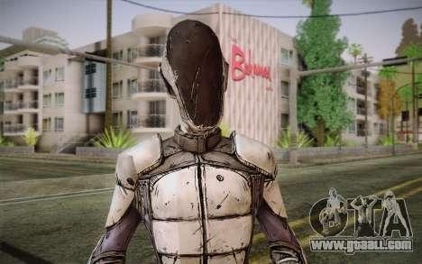 Zero из Borderlands 2 for GTA San Andreas third screenshot