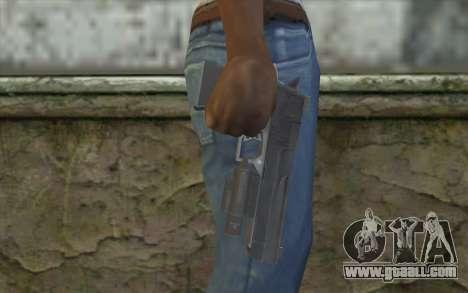 Desert Eagle from Modern Warfare 2 for GTA San Andreas third screenshot