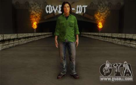 Sam Winchester из Supernatural for GTA San Andreas