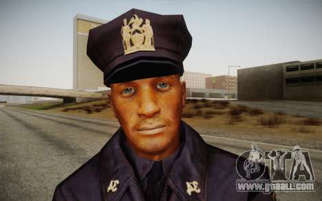 Policeman from Alone in the Dark 5 for GTA San Andreas third screenshot