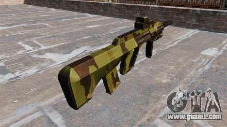 Machine Steyr AUG-A3 Woodland for GTA 4 second screenshot