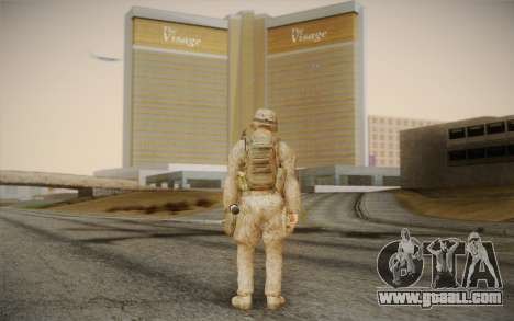 Soldiers from the Black Ops 2 for GTA San Andreas second screenshot