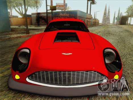 Aston Martin DB4 Zagato 1960 for GTA San Andreas back view