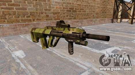 Machine Steyr AUG-A3 Woodland for GTA 4