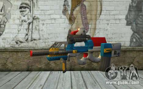 P90 MC Latin 3 from Point Blank for GTA San Andreas