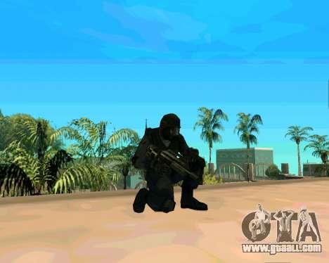 Jackhammer из Max Payne for GTA San Andreas forth screenshot