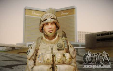 Soldiers from the Black Ops 2 for GTA San Andreas third screenshot