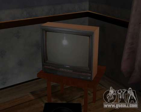 Colour television alpha TC-DU for GTA San Andreas