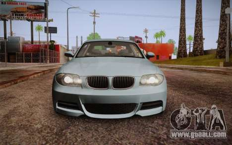 BMW 135i Limited Edition for GTA San Andreas upper view