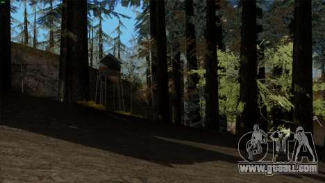 The dense forest v2 for GTA San Andreas second screenshot