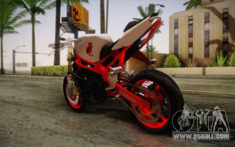 Kawasaki Zx6r Ninja for GTA San Andreas left view