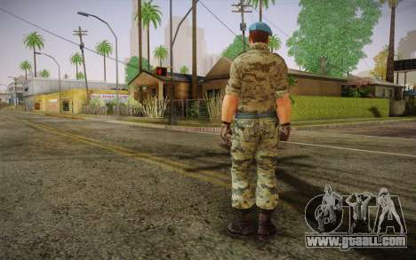 Corporal VDV for GTA San Andreas second screenshot