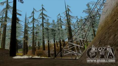 The dense forest v2 for GTA San Andreas