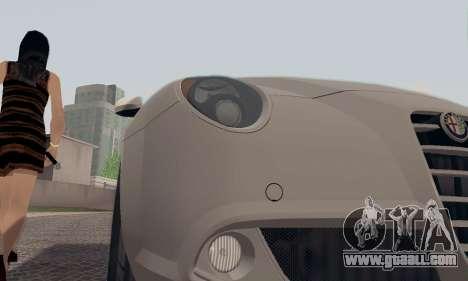 Afla Romeo Mito Quadrifoglio Verde for GTA San Andreas wheels