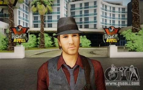 Ronan O Connor из Murdered: Soul Suspec for GTA San Andreas third screenshot