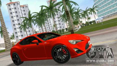 Toyota GT86 for GTA Vice City right view