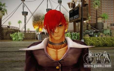 Iori Yagami for GTA San Andreas third screenshot