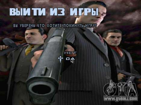 Boot screen Mafia II for GTA San Andreas eleventh screenshot
