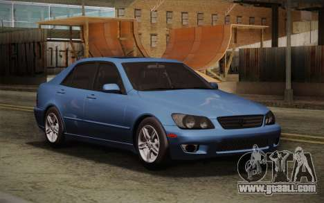Lexus IS300 2003 for GTA San Andreas