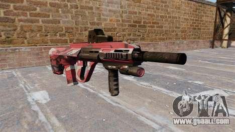 Machine Steyr AUG-A3 Red urban for GTA 4