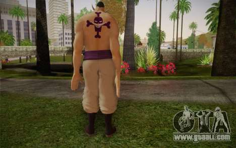 One Piece Whitebeard Edward Newgate for GTA San Andreas second screenshot