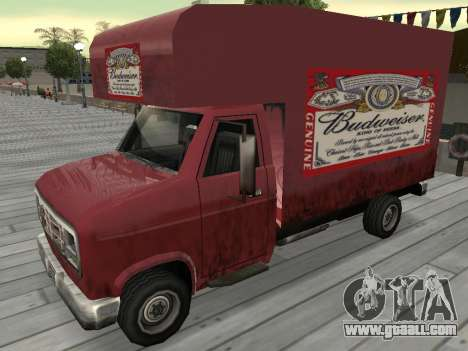 New advertising on cars for GTA San Andreas eleventh screenshot
