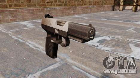 Gun FN Five seveN Chrome for GTA 4