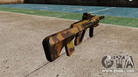 Machine Steyr AUG-A3 Optic Fall for GTA 4 second screenshot