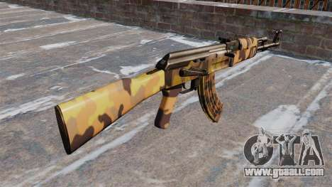 The AK-47 Fall for GTA 4 second screenshot