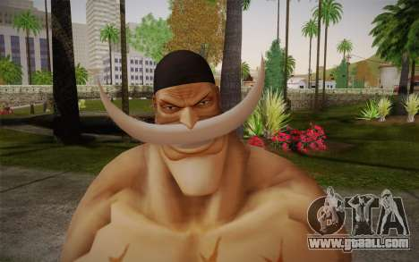 One Piece Whitebeard Edward Newgate for GTA San Andreas third screenshot