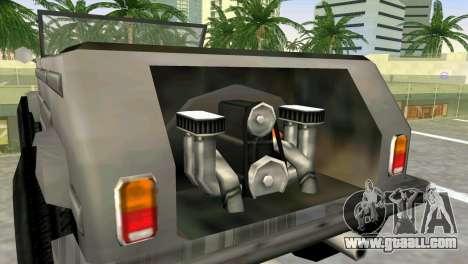 Volkswagen Kuebelwagen for GTA Vice City back left view